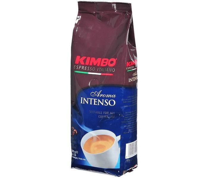 Кофе Kimbo Кофе Aroma Intenso насыщенный зерновой 500 г кофе зерновой nicola especial
