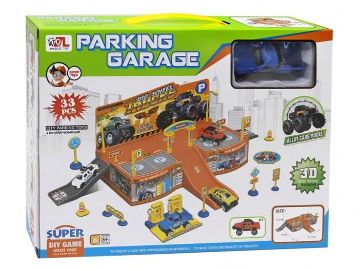 Машины Джамбо Тойз Игровой набор Парковка hld toys игровой набор парковка 1