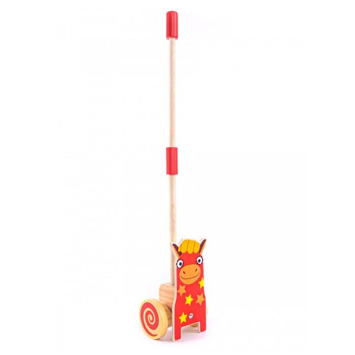 Купить Каталки-игрушки, Каталка-игрушка Деревяшки на палочке Лошадка Иго-го