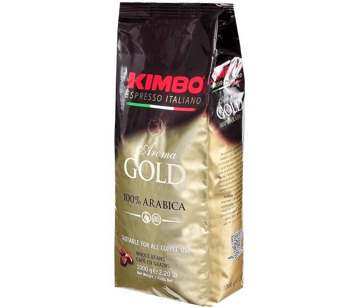 Кофе Kimbo Кофе Gold 100% Arabica зерновой 1 кг кофе в зернах kimbo aroma gold 100% arabica 250 г