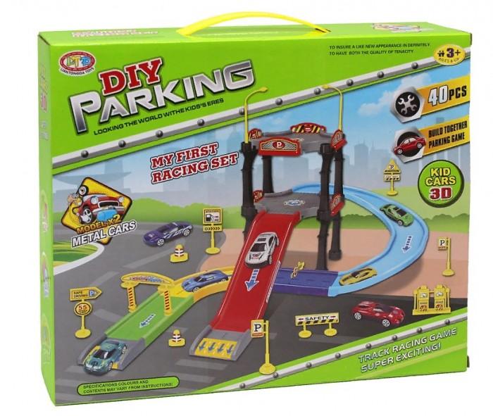 Машины Джамбо Тойз Игровой набор Парковка (40 деталей) hld toys игровой набор парковка 1