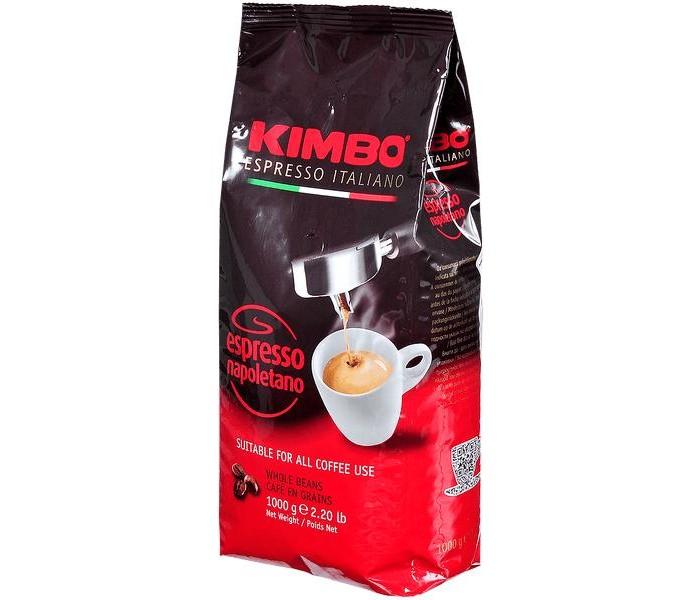 Кофе Kimbo Кофе Espresso Napoletano зерновой 1 кг