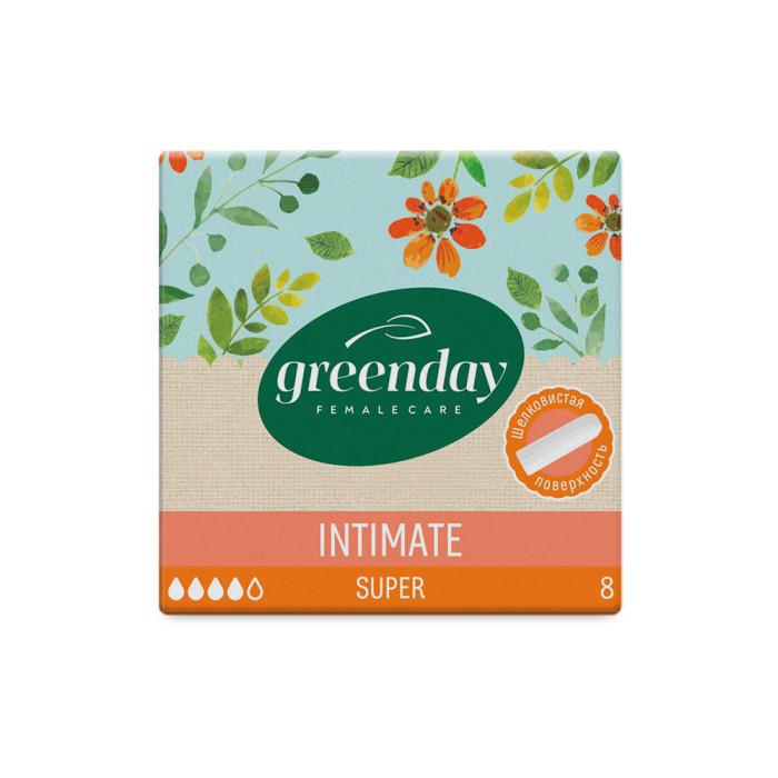 Гигиенические прокладки GreenDay Тампоны Super 8 шт.