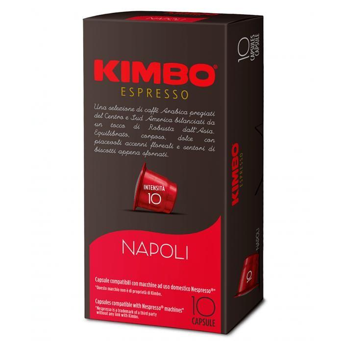 Кофе Kimbo Кофе NC Napoli в капсулах 10 шт. ретинола пальмитат в капсулах купить в москве