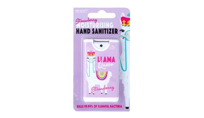 Аптечки MAD Beauty Антисептик для рук Llama Queen c ароматом клубники dewdney anna llama llama happy birthday