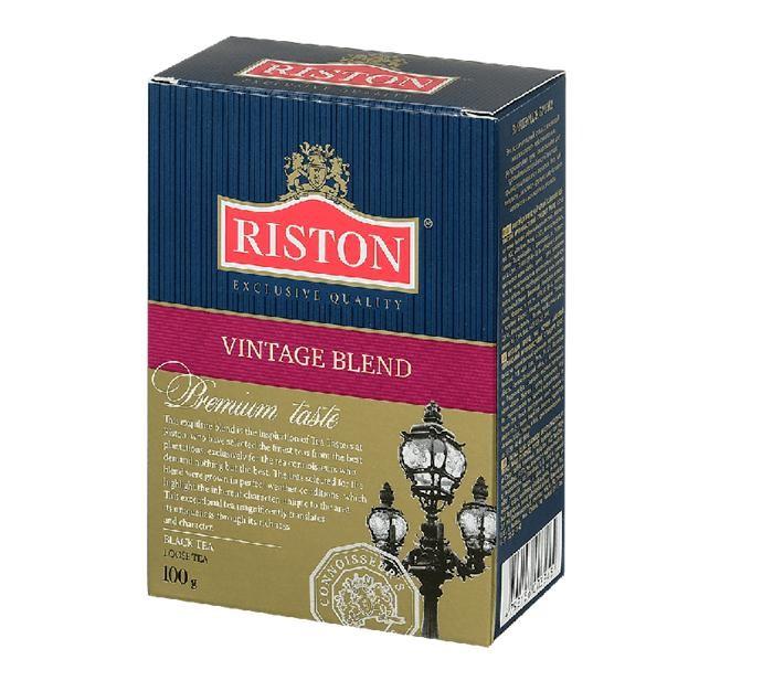 Чай Riston Чай чёрный Vintage Blend 100 г