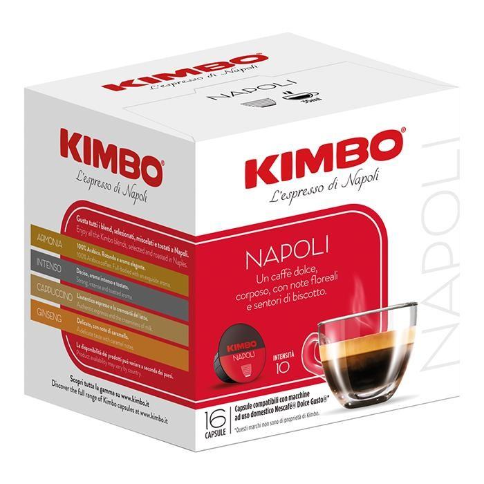 Кофе Kimbo Кофе DG Napoli в капсулах 16 шт. ретинола пальмитат в капсулах купить в москве