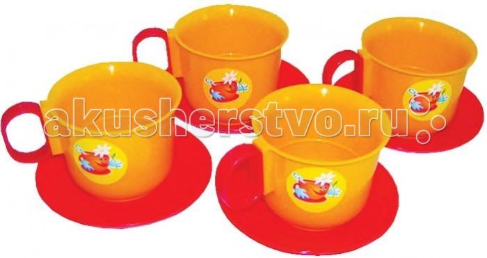 Ролевые игры Плэйдорадо Набор посуды чашки 8 предметов
