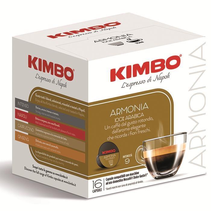 Кофе Kimbo Кофе DG Armonia в капсулах 16 шт. кофе в капсулах jardin vivo 10 шт