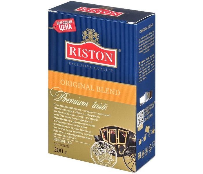 Чай Riston Чай черный Original Blend 200 г perma blend