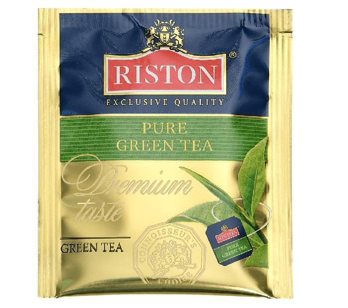 Riston Чай зеленый Pure Green 300 пак.