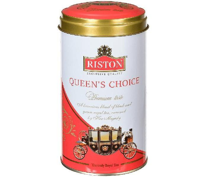 Чай Riston Чай черный и зеленый Queens Choice среднелистовой 100 г азерчай чай черный азерчай с бергамотом 100 г