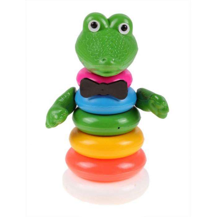 все цены на Развивающие игрушки Плэйдорадо Пирамида Крокодил онлайн