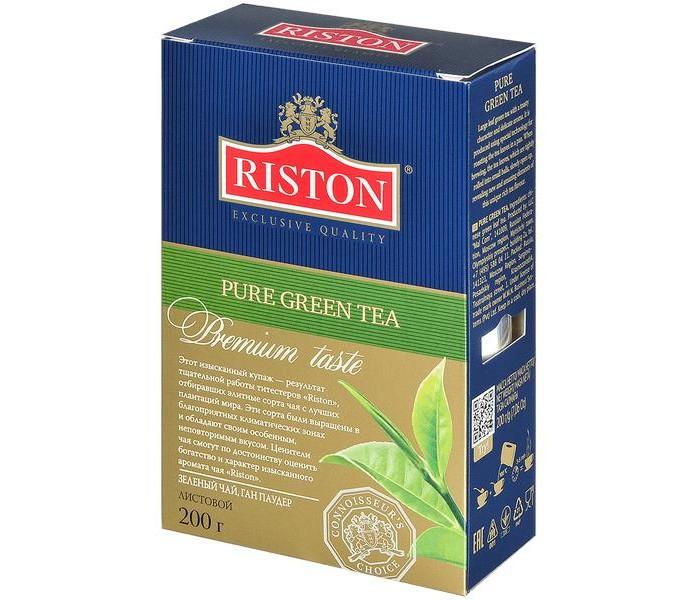 Чай Riston Чай зелёный Pure Green 200 г