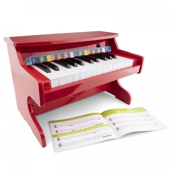 Деревянные игрушки New Cassic Toys Пианино 25 клавиш