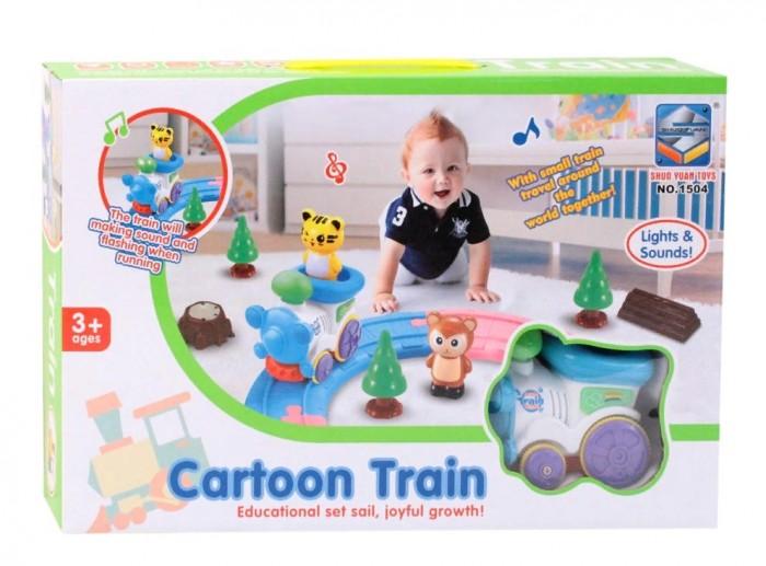 Железные дороги Джамбо Тойз Железная дорога для малышей свет звук железная дорога играем вместе метро на бат свет звук 695см с аксесс в русс кор