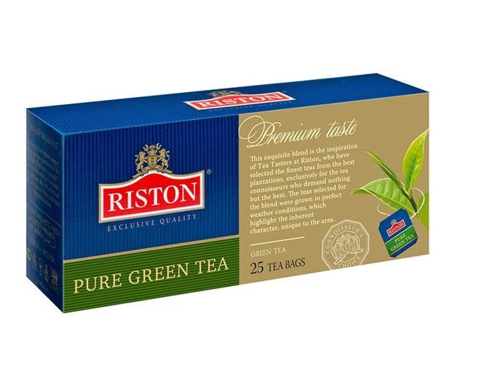 Чай Riston Чай зеленый Pure Green 25 пак.