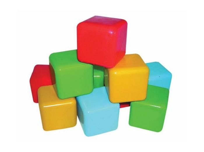 Развивающие игрушки Пластмастер Кубики цветные