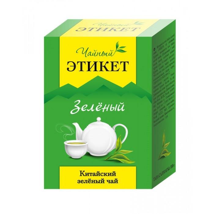 Чай Этикет Чай зеленый китайский 100 г