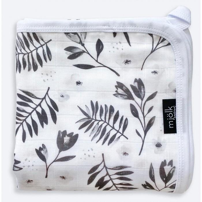 Одеяла Mjolk Муслиновое легкое Цветы 80х80 см