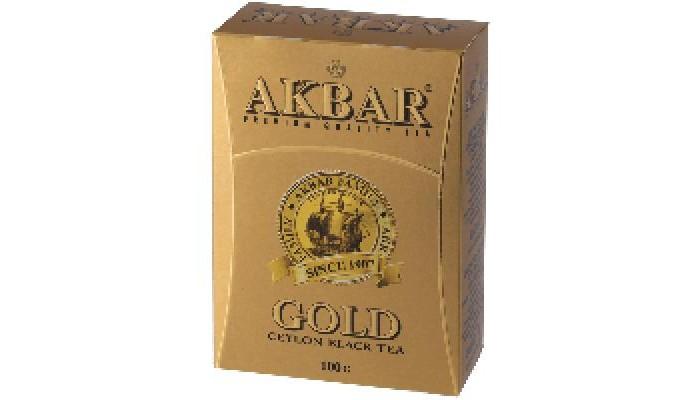 Чай Akbar Чай черный среднелистовой Gold 100 г