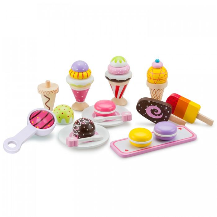 Фото - Деревянные игрушки New Cassic Toys Игровой набор Мороженое 10630 деревянные игрушки new cassic toys игровой набор инструментов 12 предметов
