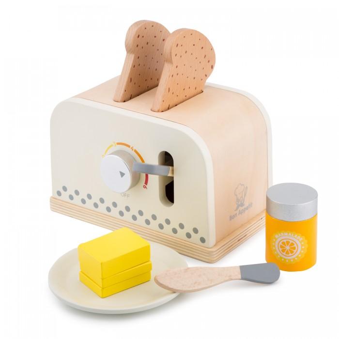 Фото - Деревянные игрушки New Cassic Toys Игровой набор Тостер тостер