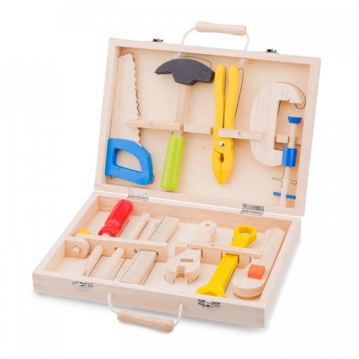 Деревянные игрушки New Cassic Toys Игровой набор инструментов 10 предметов