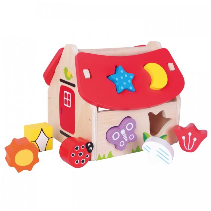 Фото - Деревянные игрушки New Cassic Toys Домик-сортер 10563 plantoys сортер каталка plan toys автобус