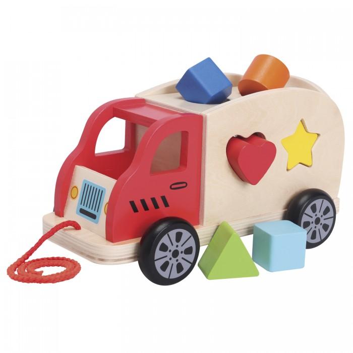 Фото - Деревянные игрушки New Cassic Toys Грузовик-сортер plantoys сортер каталка plan toys автобус