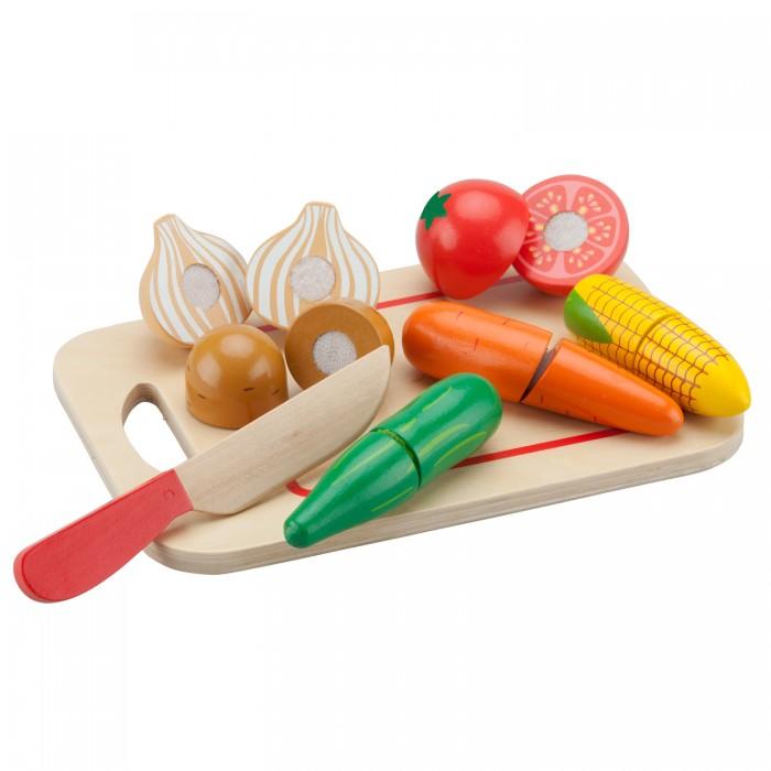 Фото - Деревянные игрушки New Cassic Toys Игровой набор Овощи деревянные игрушки new cassic toys игровой набор инструментов 12 предметов