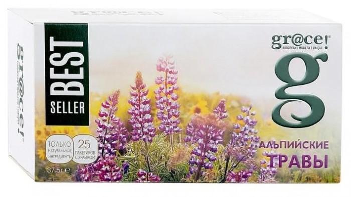 Чай Grace Чай зеленый и белый Альпийские травы 25 пак. недорого