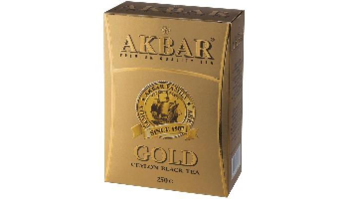 Чай Akbar Чай черный среднелистовой Gold 250 г