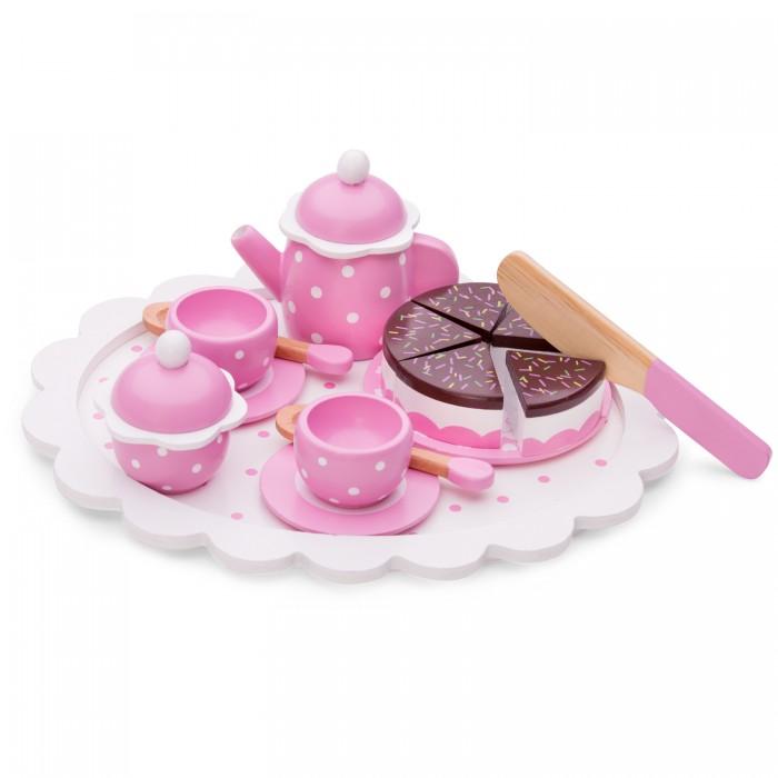 Деревянные игрушки New Cassic Toys Игровой набор для чаепития