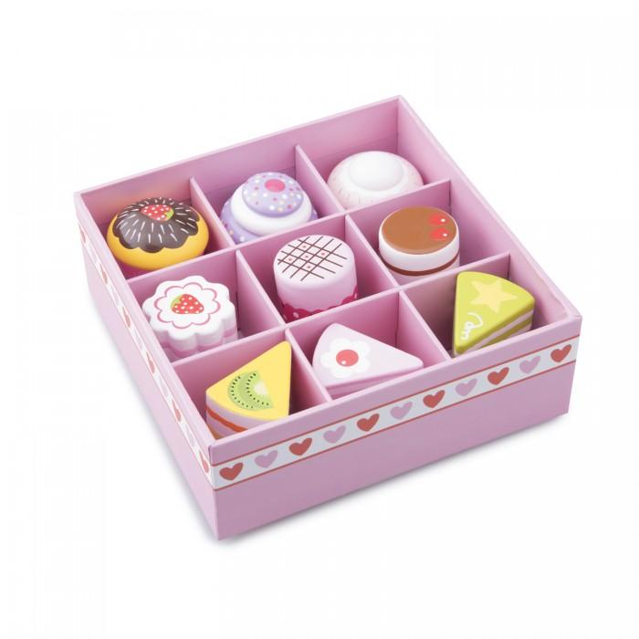 Деревянные игрушки New Cassic Toys Игровой набор пирожных