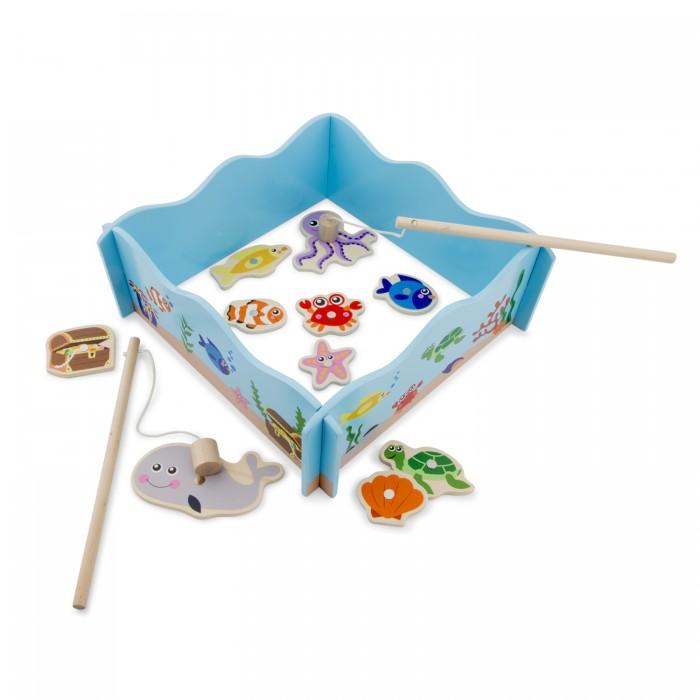 Деревянная игрушка New Cassic Toys Рыбалка 10800