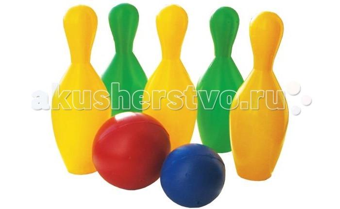 Спортивный инвентарь Пластмастер Игровой набор Кегли набор кеглей юг пласт 8000