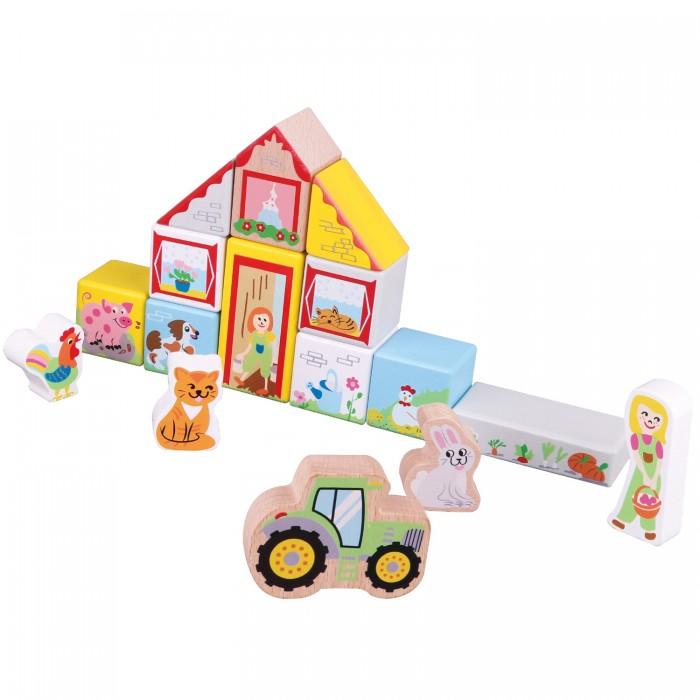 Деревянная игрушка New Cassic Toys Игровой набор Ферма