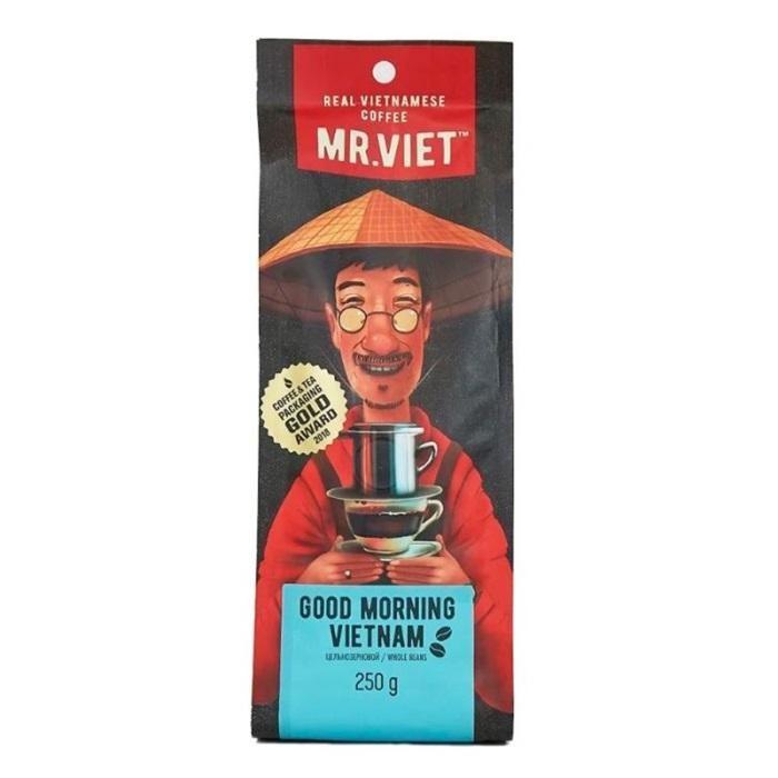 Кофе Sense Asia Кофе зерновой Mr.Viet Доброе утро 250 г кофе в зернах bonfuse asia арабика 250 г