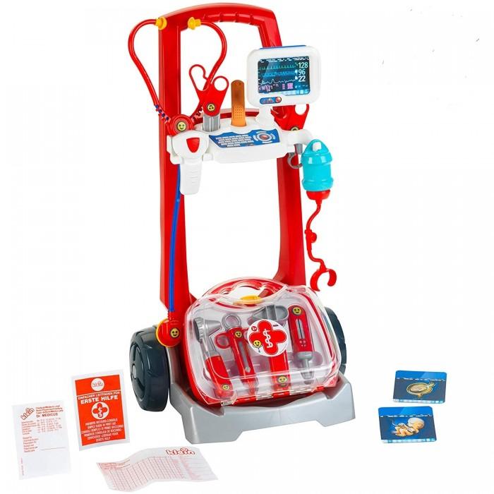 Фото - Ролевые игры Klein Игровой набор медицинская тележка с аксессуарами ролевые игры klein игровой набор bosch с шуруповертом