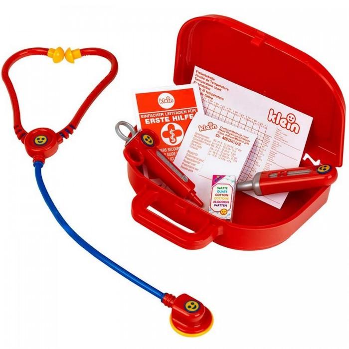 Фото - Ролевые игры Klein Игровой набор кейс доктора, маленький с закругленными углами ролевые игры klein игровой набор bosch с шуруповертом