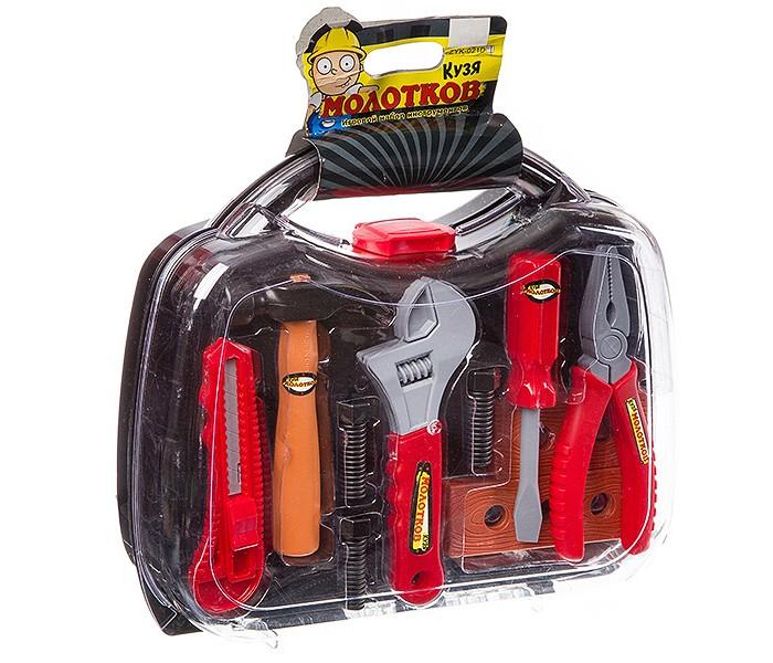 Фото - Ролевые игры Zhorya Набор инструментов в чемодане (10 предметов) набор отверток и инструментов kraftool x drive electro высоковольтных до 1000 в 18 предметов 220092 h18