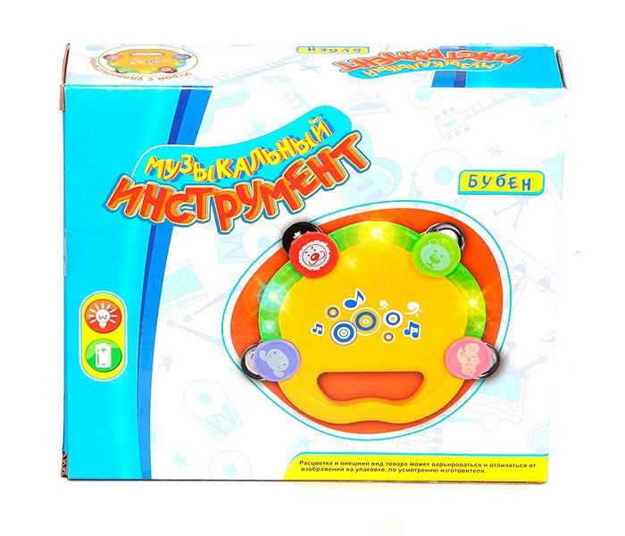Фото - Электронные игрушки Zhorya Музыкальный бубен с подсветкой развивающие игрушки zhorya музыкальный жираф
