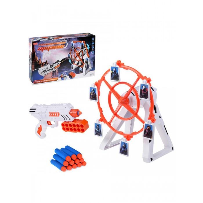 Игрушечное оружие Zhorya Игровой набор пистолет Галактическое оружие с подвижной мишенью лазерный пистолет winyea с движущейся мишенью паук w7003