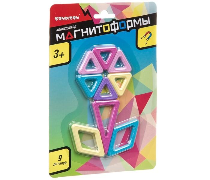 Конструкторы Bondibon магнитный Магнитоформы (9 деталей) недорого