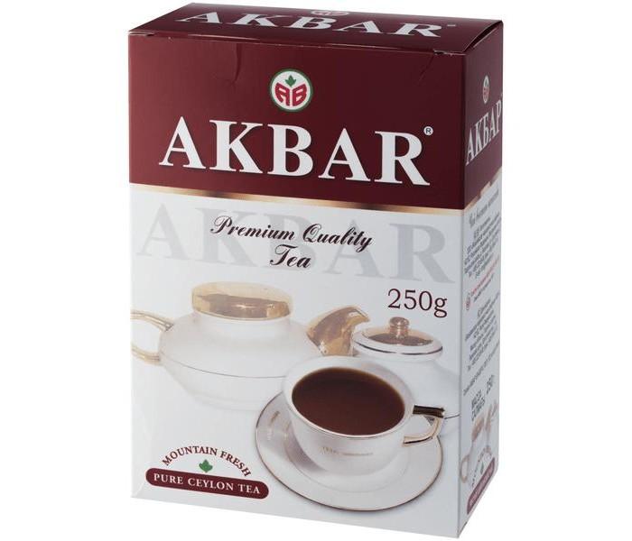 Чай Akbar Чай черный Крупнолистовой цейлонский 250 г