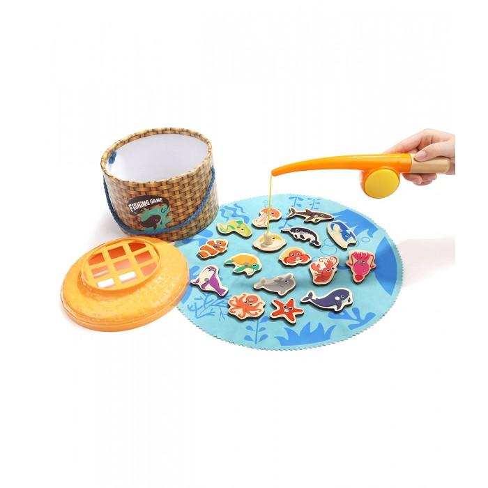 Фото - Деревянные игрушки TopBright Магнитная игра Рыбалка (16 элементов) деревянные игрушки topbright магнитная игра рыбалка 26 элементов