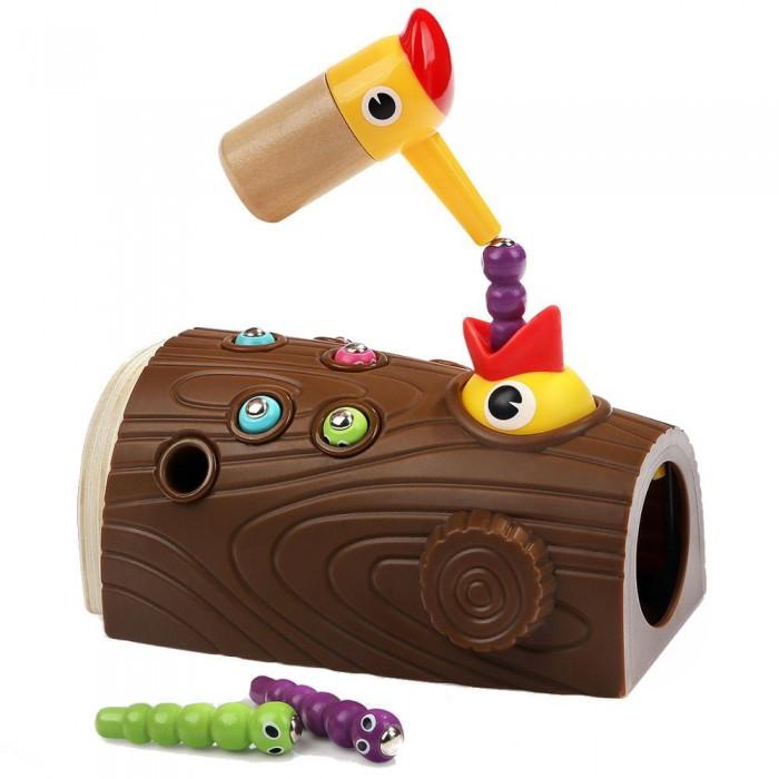 Настольные игры TopBright Магнитная игра - рыбалка Накорми птичку игры для малышей djeco магнитная игра тропическая рыбалка