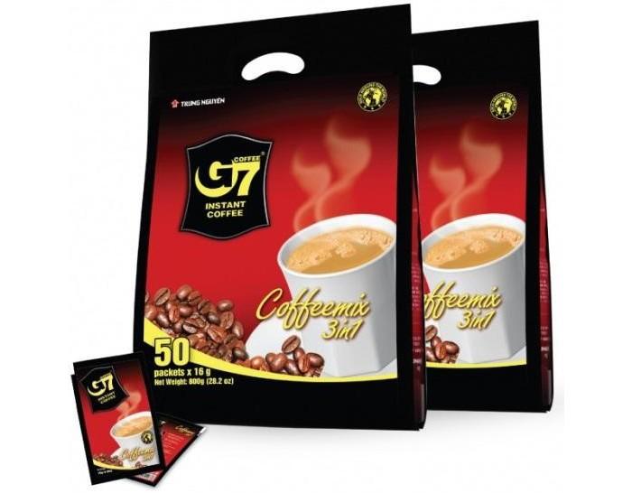 Купить Trung Nguyen Кофе растворимый G7 3 в 1 50 шт.