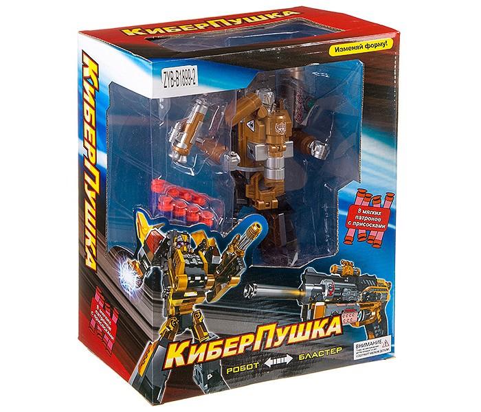 Купить Роботы, Zhorya Трансформер бластер-робот КиберПушка Л83010